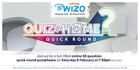 Quiz@Home 2021 Quick Round tickets