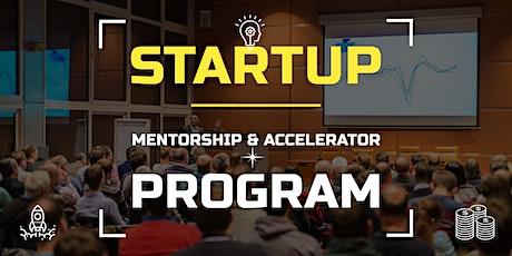 [Startups] : Mentorship & Accelerator Program for Startups tickets
