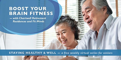 Staying Healthy and Well - BOOST YOUR BRAIN FITNESS #2 tickets