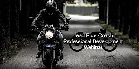 WMSP Lead RiderCoach PDWebinar tickets