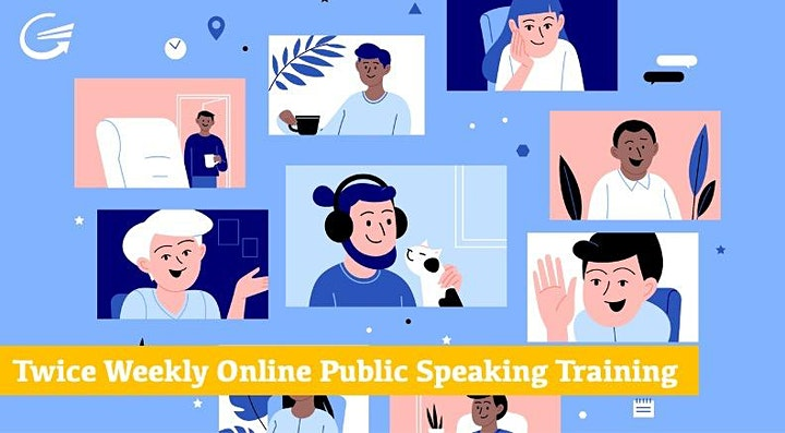 Discover The Secret to Public Speaking Confidence - FREE Accelerator Event image