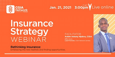 Insurance Strategy Webinar tickets