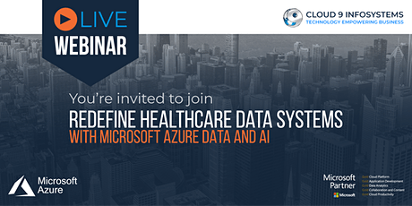 Redefine Healthcare Data Systems with Microsoft Azure Data and AI tickets