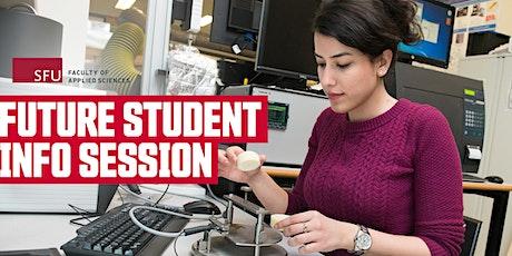 SFU Future Student Info Session - School of Sustainable Energy Engineering biglietti