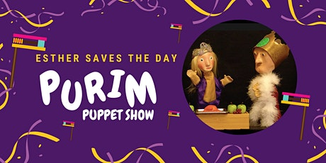 Esther Saves the Day Purim Puppet Show tickets