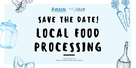 Local Food Processing tickets
