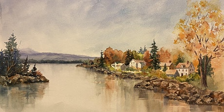 Painting Watercolor Landscapes on Gessoed Paper tickets