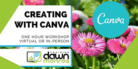 Creating with Canva tickets