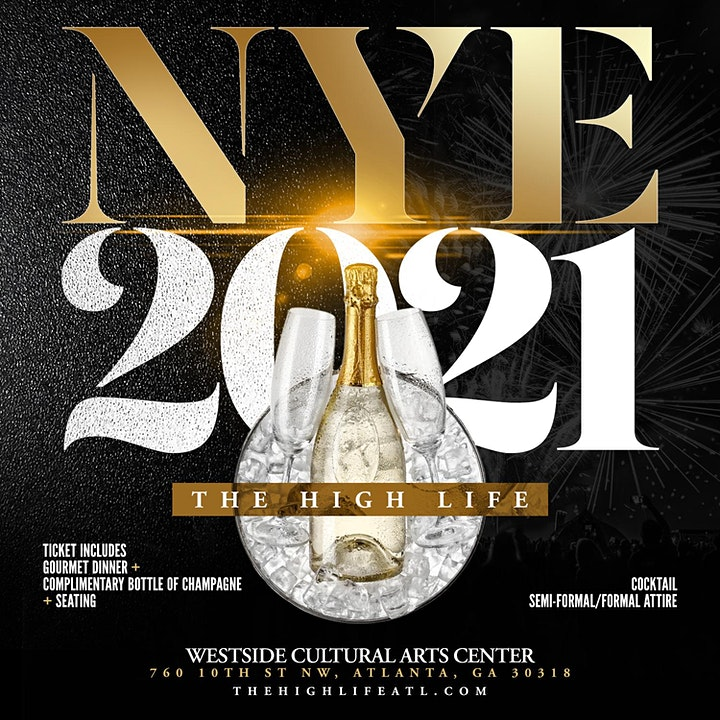 NYE 2021, The High Life Dinner & Cocktail  Party Experience image
