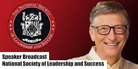 Speaker Broadcast - Bill Gates tickets