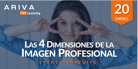 Las 4 Dimensiones de la Imagen Profesional boletos