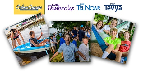 Virtual Open House: Camps Pembroke, Tel Noar & Tevya (Summer 2021 or 2022!) tickets