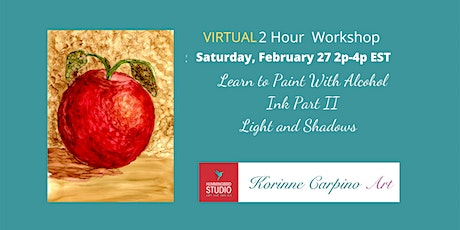 Learn to Paint with Alcohol Ink Part 2 tickets