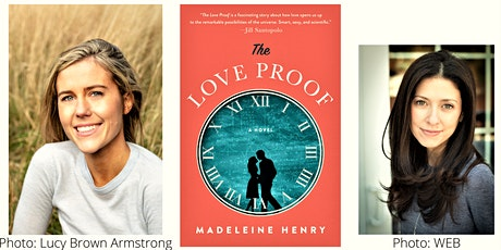 THE  LOVE PROOF by Madeleine Henry tickets
