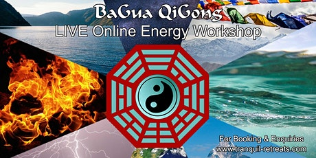 BaGua QiGong - Online LIVE Energy Workshop tickets