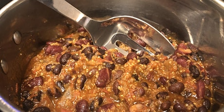 Flavorful Vegan Chili Cooking Class - Level: Easy tickets