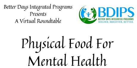 Physical Food For Mental Health tickets