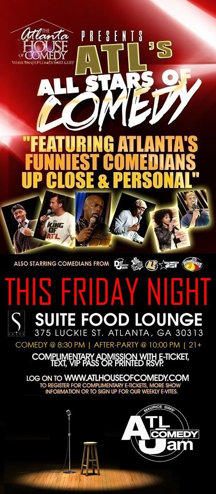 All Stars of Comedy at Suite Lounge image