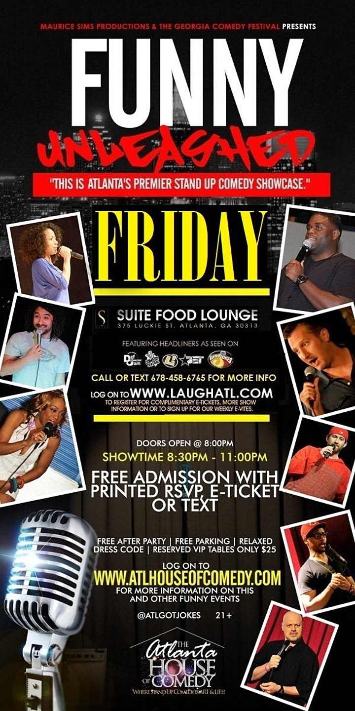 Funny Unleashed @ Suite Food Lounge image