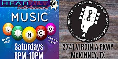 Music Bingo Saturday's at Guitars & Growlers - McKinney tickets