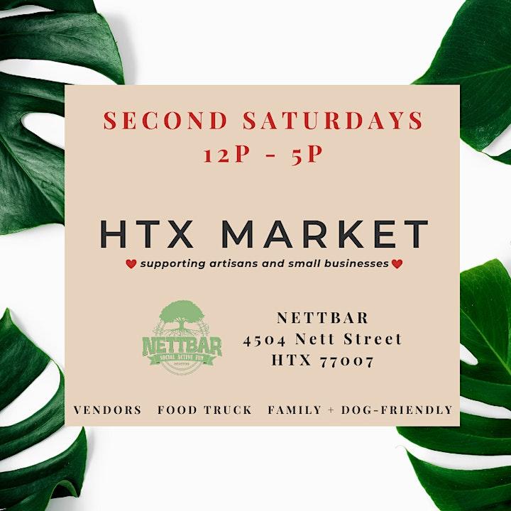 HTX Market x NettBar Second Saturdays image