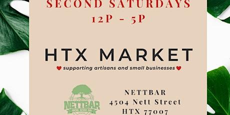 HTX Market x NettBar Second Saturdays tickets
