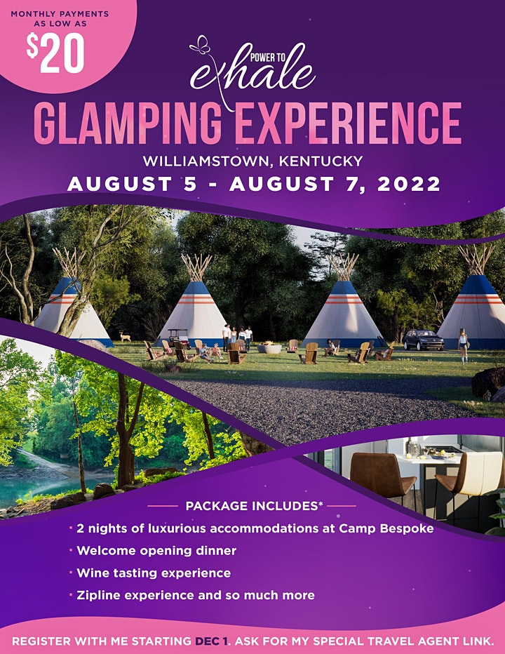 Glamping at Camp Bespoke image