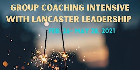 Group Coaching Intensive (Remote) boletos