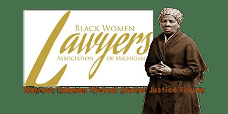 Harriet Tubman Virtual Social Justice Forum: Michigan Criminal Expungement tickets