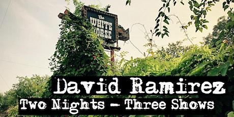 David Ramirez at The White Horse tickets