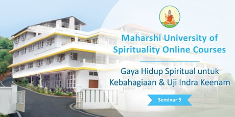 Gaya Hidup Spiritual untuk Kebahagiaan & Uji Indra Keenam tickets
