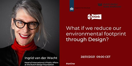 What if we reduce our environmental footprint through Design? tickets