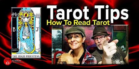 Easy Tarot Basics (How To Read Tarot Cards - Tarot Tips) tickets