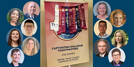 Join us at Captivating Dialogue Toastmasters Virtual Meetings! tickets