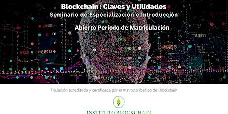 Seminario de  Blokchain Especialización e Introducción entradas