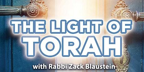 The Light of Torah tickets