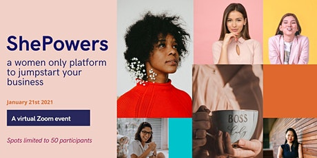 ShePowers - Turn your Ideas into Reality Webinar tickets