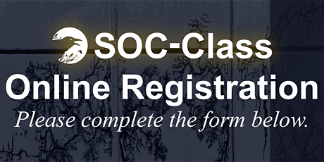 SOC-Class - London - August 2021 Edition tickets