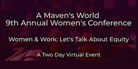 9th Annual Virtual Women's Conference - Two Day Event tickets