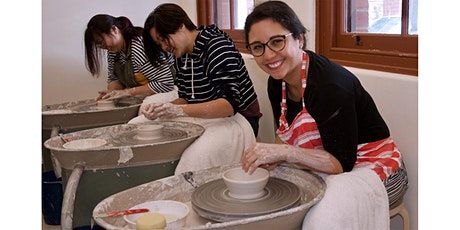 POTTERY  CLASS - Beginners Wheel Throwing (Monday night 4 week course) tickets