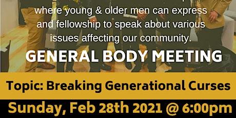 BMM:General Body Meeting tickets