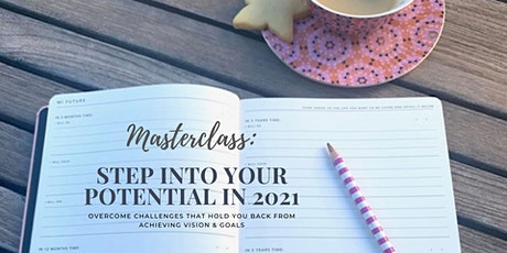 Webinar: Step into Your Potential in 2021 tickets