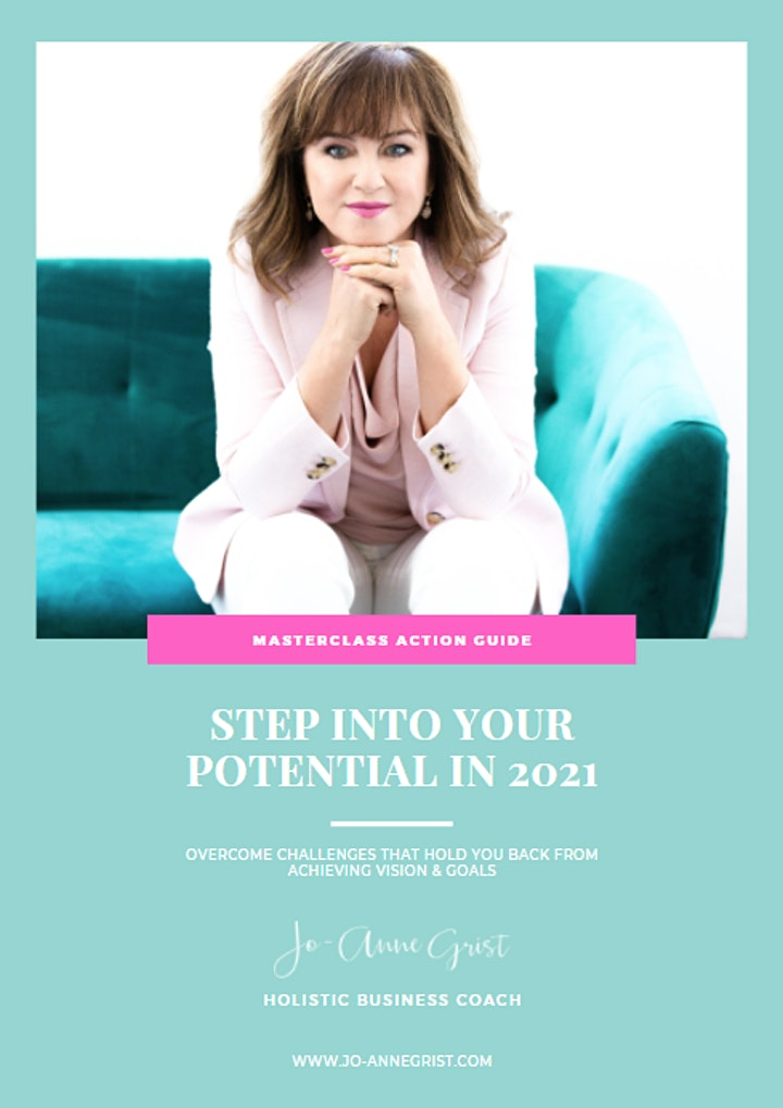 Webinar: Step into Your Potential in 2021 image