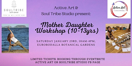 Mother Daughter Workshop (10-13 years) tickets