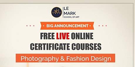 Free Online Fashion Design Course tickets