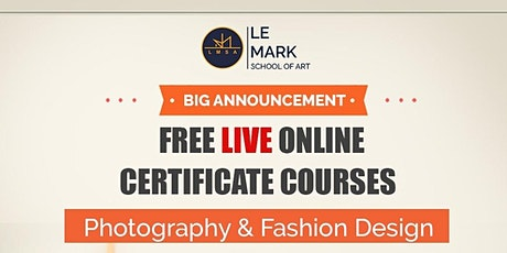 Free Online Photography Course tickets
