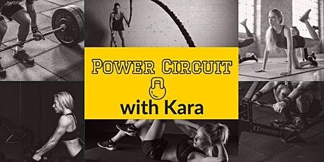 Strength/ Power Circuit tickets