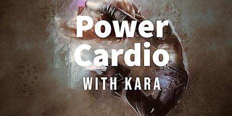 Power Cardio with Kara tickets
