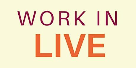 Work In Live biglietti