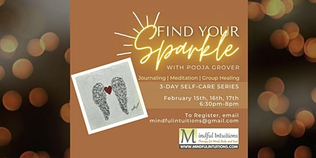 FIND YOUR SPARKLE - 3 Day Self-discovery Series with Pooja Grover tickets